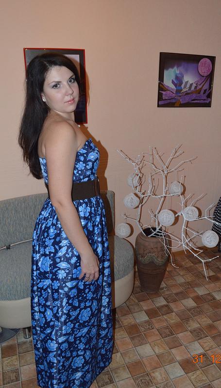 Новогоднее платье «Белоснежка»