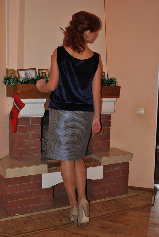 Платье длядомашней встречи НГ 2014