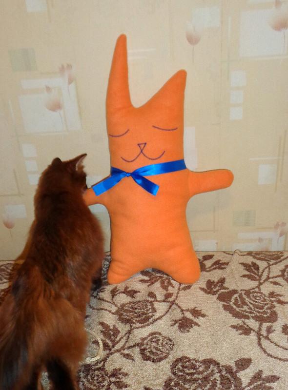 То ли кот, то ли заяц )