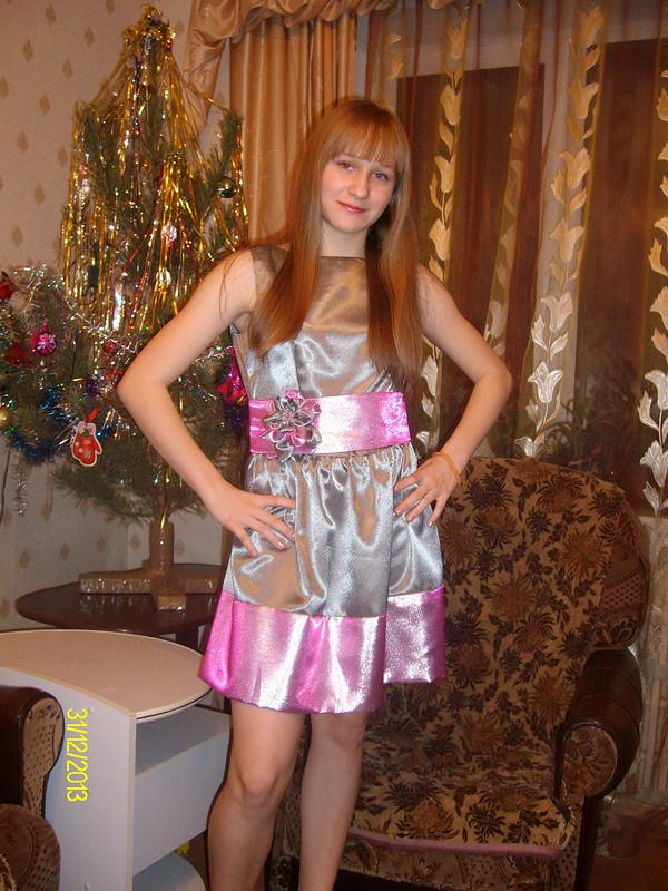 Новогоднее платье от Nadine-Voronesh