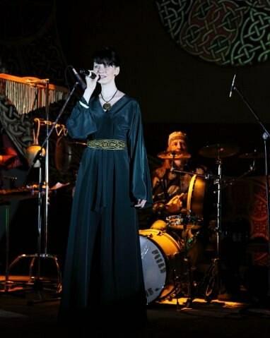 «Кельтское» платье длядня Св. Патрика от Dechtire