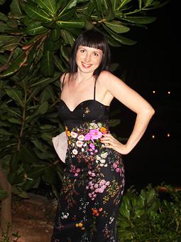 Работа с названием Цветочное платье для отпуска в цветущей стране