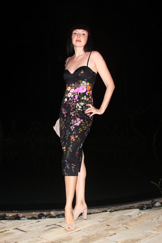 Цветочное платье дляотпуска вцветущей стране от Zaya-tsss