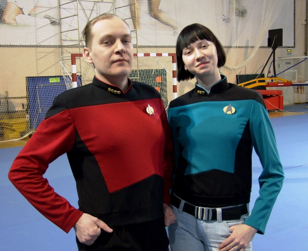 Униформа звёздного флота от Dechtire