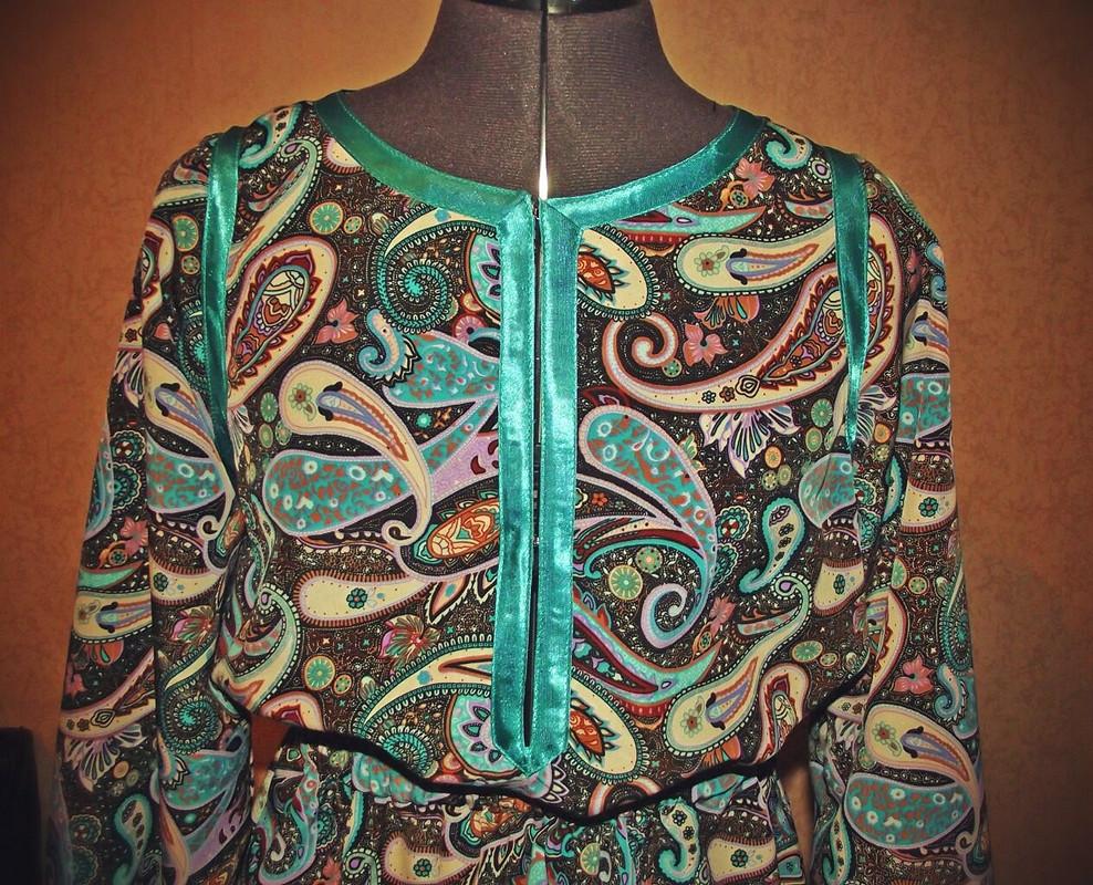 «Огуречное» платье :)