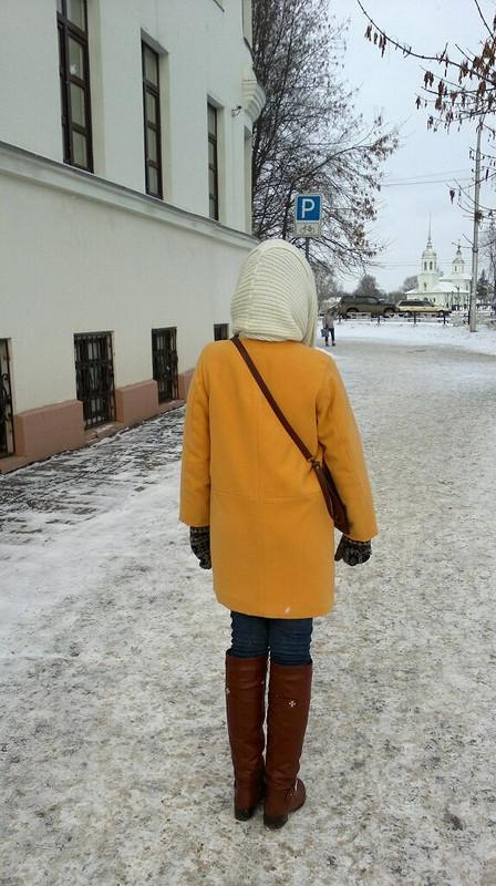 Горчица  (зимнее пальто)