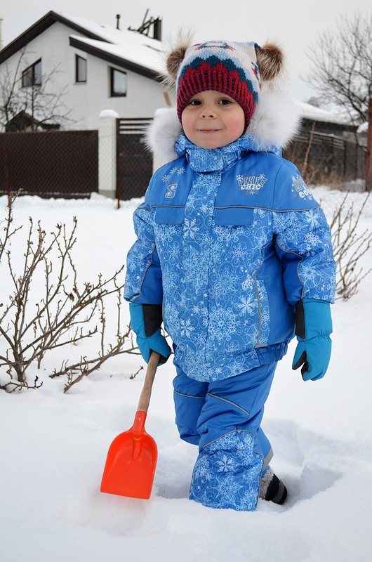 Вьюга Синяя Зима от Verevochca
