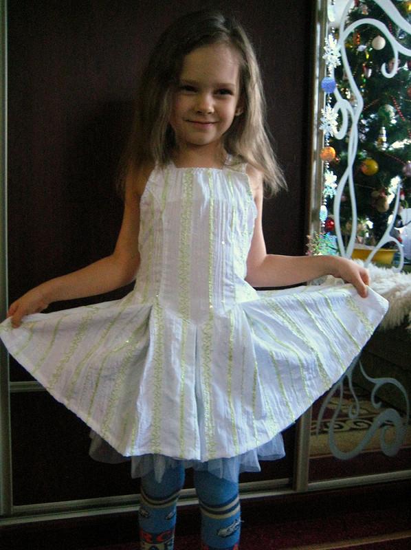 летнее платье длядочки