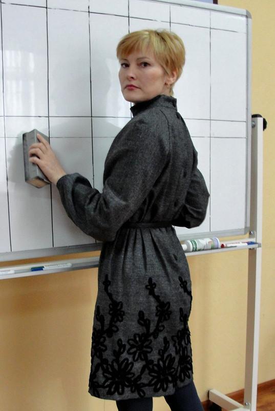Теплое твидовое платье от шитьЛюблю