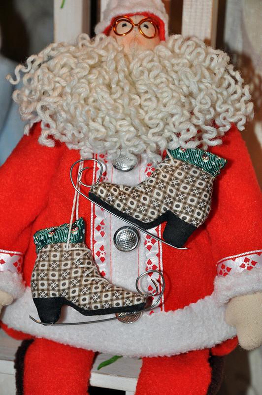 Дед Санта иего внучка Снегурочка! Новогодние Тильды. от MymiMama