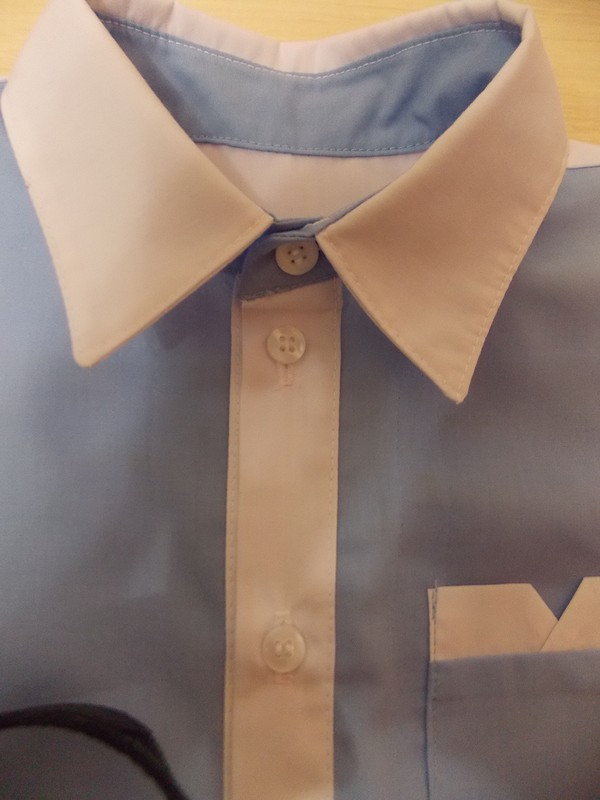 Три рубашки поодной выкройке