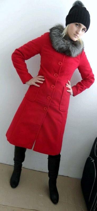 Облегающее пальто
