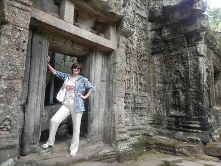 Невесомая рубашка дляТайланда иКамбоджи от Astra_batik