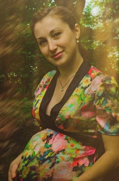Платье длябеременной подружки)))