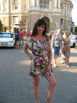 Работа с названием Любимое летнее платье)