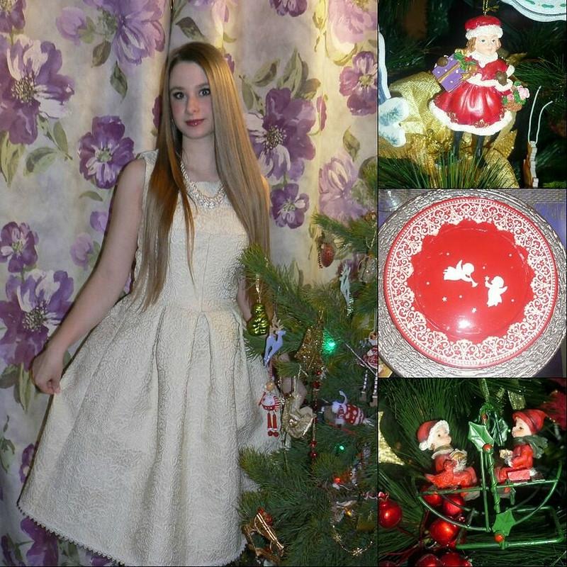 Новогоднее платьице)