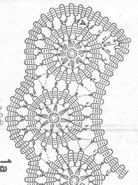Воротничок брюггское кружево