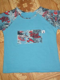 Работа с названием Костюмчик и футболка для сыночка.