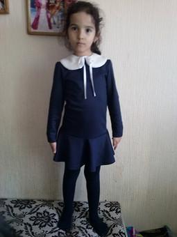 Работа с названием Школьное платье