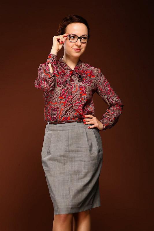 Блуза дляМарии или моя итерпретация Max Mara от lisichkairishka