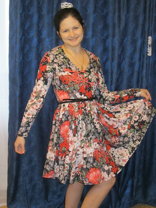 платье длясестренки