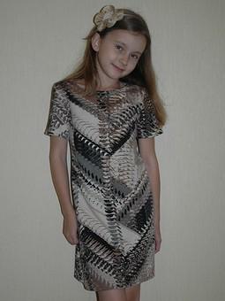 Работа с названием Платье и блуза.