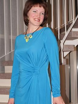 Работа с названием Платье на Новый год 2014