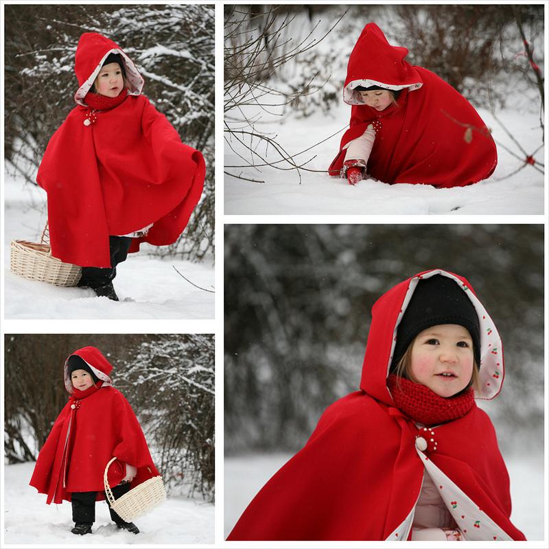 Вот такая получилась Красная Шапочка:) от Assolka