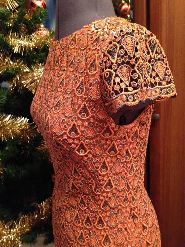 Рождественское платье.