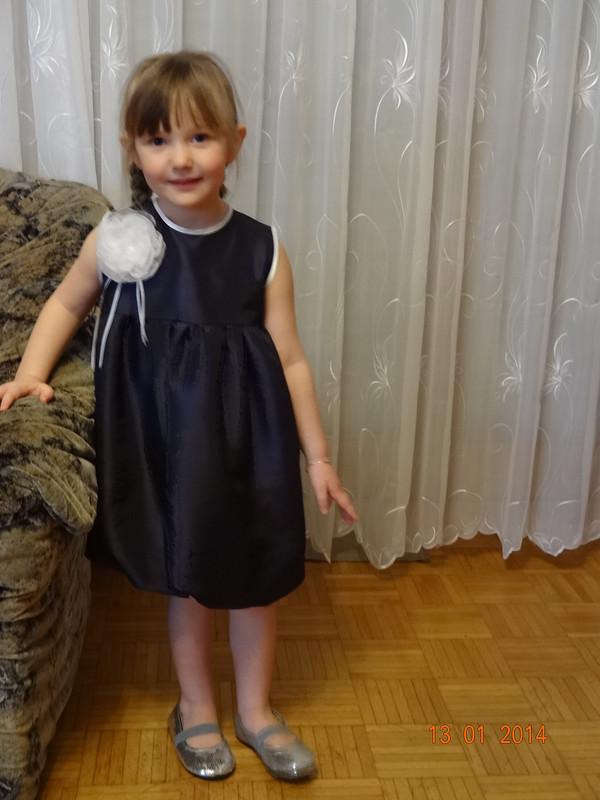 Платье  «Черничное счастье»