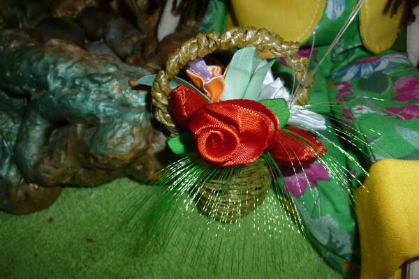 Тильда - цветочница