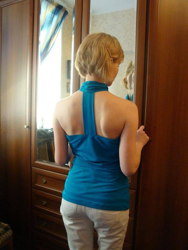 Синяя драпировочка или даже две... от svt31