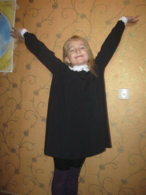 Школьное платье от kasikovna