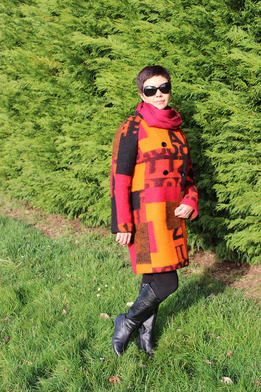 Уютное пальто от Sannier
