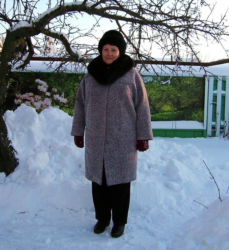 В новый год вновом пальто.