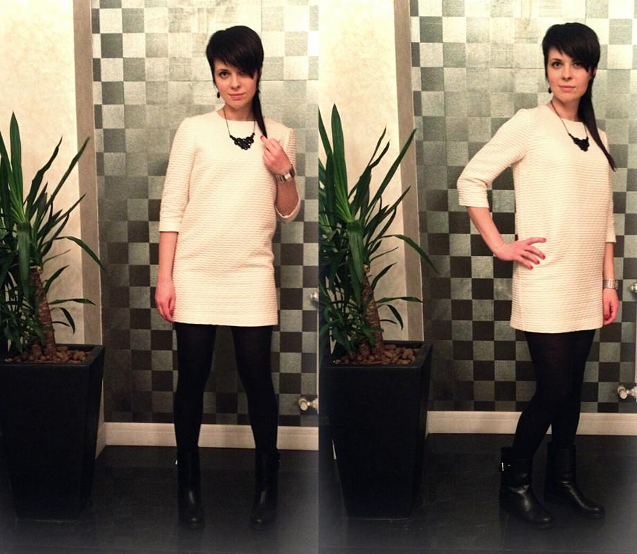 Фактурное платье Armani