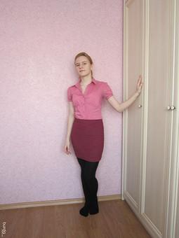 Работа с названием Уютная юбка