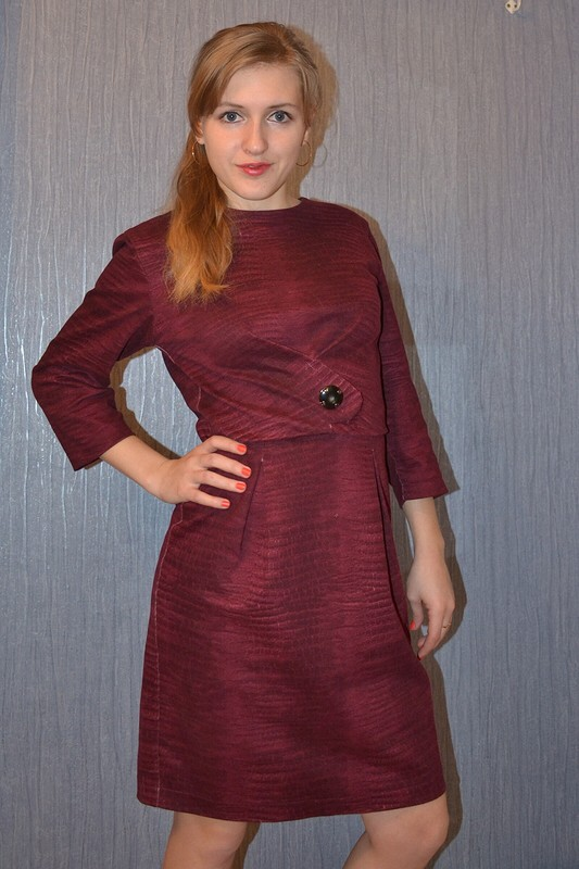 мой вариант платья «винтаж»