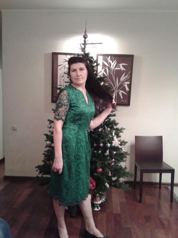 Платье-ёлка.