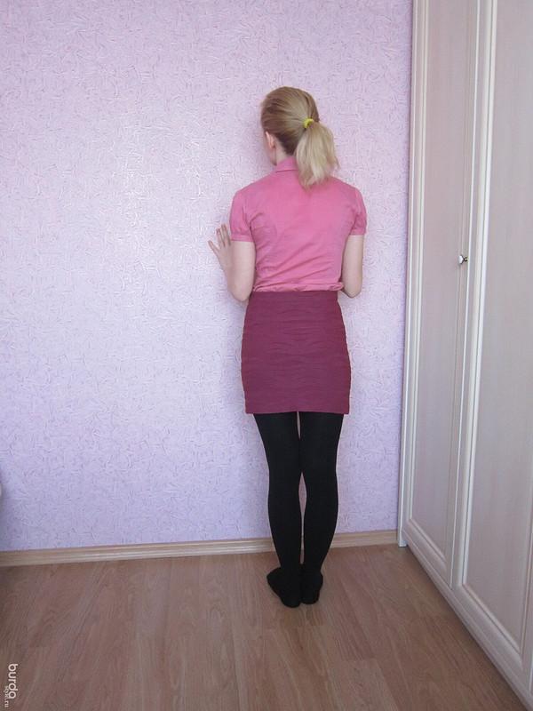 Уютная юбка
