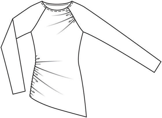 Пуловер— шаг зашагом
