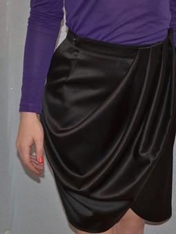 Работа с названием Оригинальная юбка
