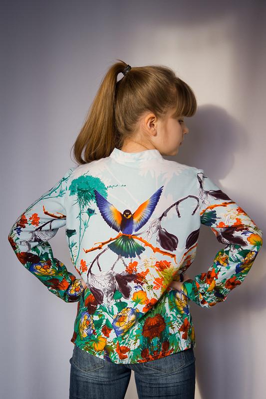 Блузка «Райский сад»