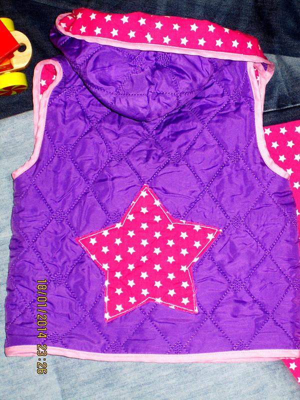 звездная жилетка дляшустрой детки от ANNi5555