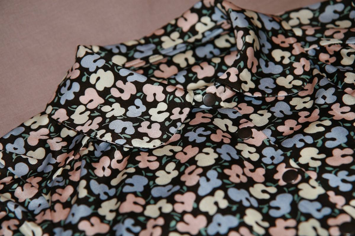 Платье вшкодный цветочек от OLLLis