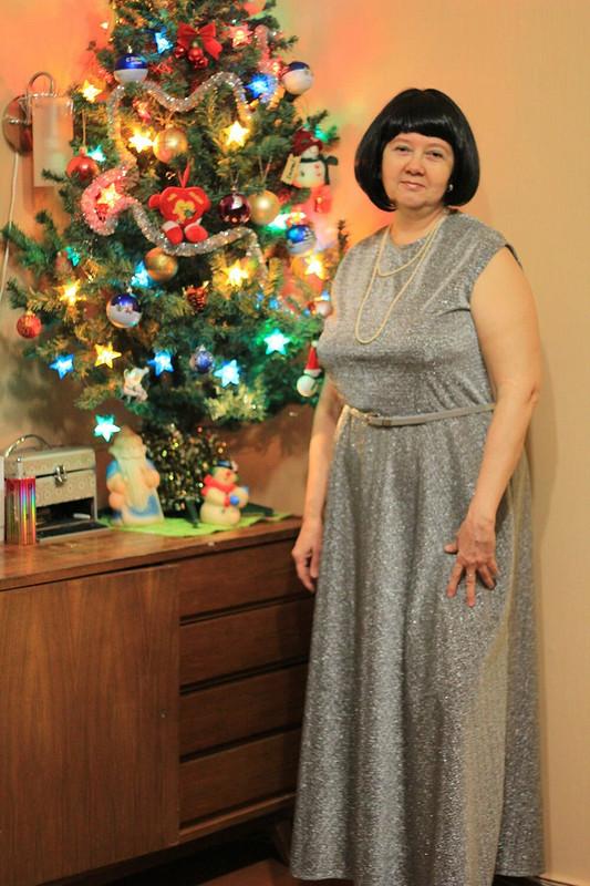 Новогоднее платье. от elena legos