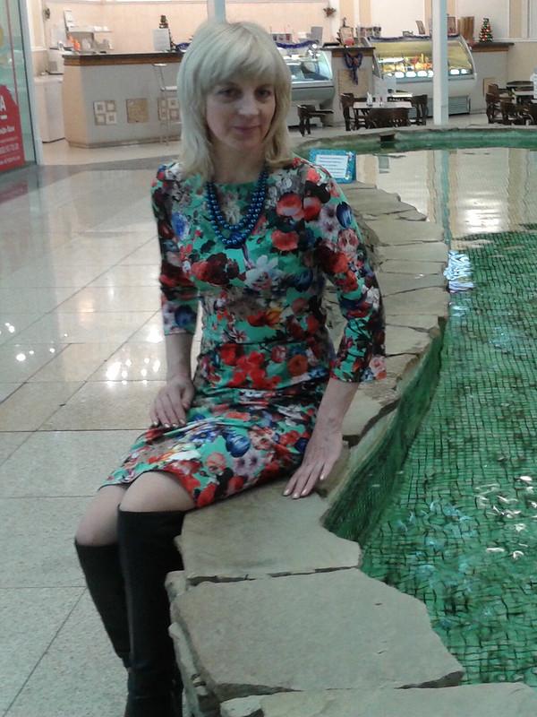 Два платья поодной выкройке от iriska5