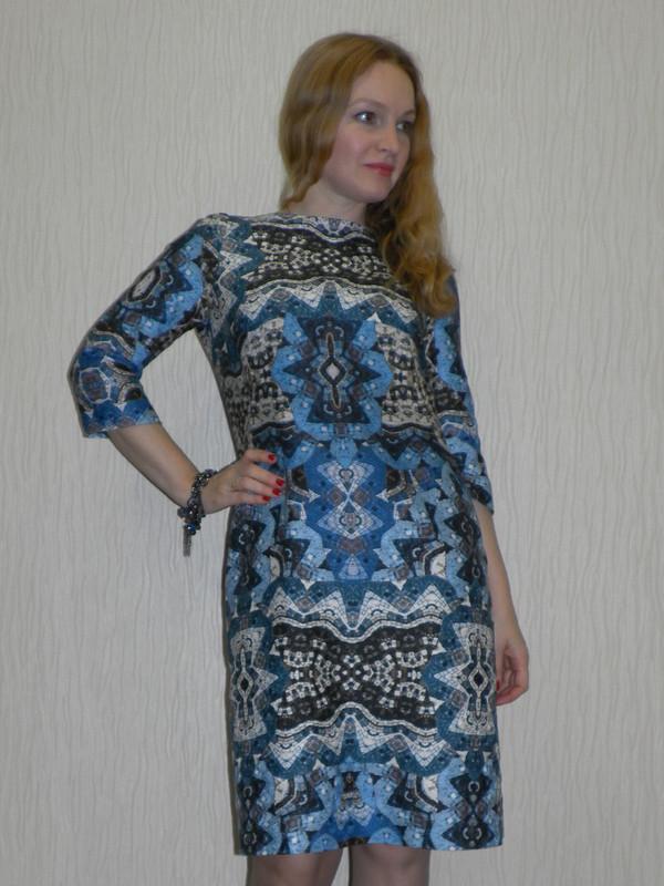 Калейдоскопное платье от Elena Leo