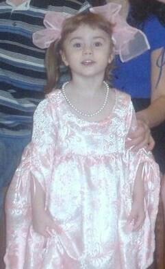 Новогоднее платье принцессы.