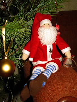 Работа с названием Санта Клаус